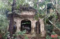 Ancient temple in Ha Tinh province needs restoration
