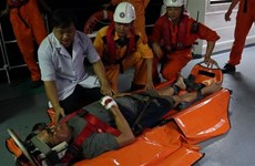 Injured Philippine sailor taken to Da Nang for treatment