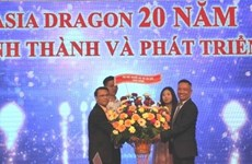 Asia Dragon Bazar's 20th anniversary marked in Czech Republic