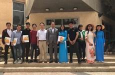 Graduation ceremony for Vietnamese students in Israel