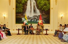 Deputy PM: Vietnam supports Myanmar in national development