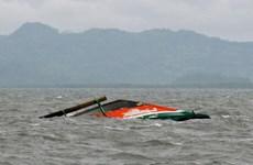 Passenger boat capsizes in Indonesia