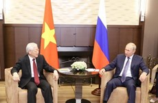 Vietnamese, Russian leaders exchange greetings on friendship ties anniversary
