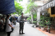 Hanoi in peak season for dengue fever