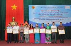 Quang Binh benefits from sustainable rural development project