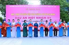 Photo exhibition on front's HCM City chapter opens