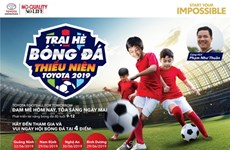 Toyota junior football camp 2019 to kick off