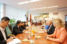 Ambassador works to boost relations between Vietnamese, Czech localities