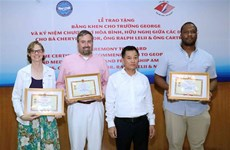 George School honoured for fostering US-VN friendship