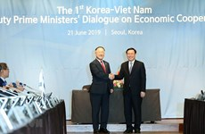 Vietnam, RoK hold first deputy PM economic dialogue
