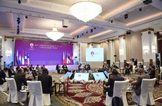 ASEAN leaders talk global, regional issues at retreat session