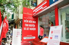 Hanoi's first fixed blood donation site opens