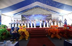 Solar power plant inaugurated in Long An province