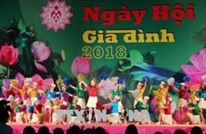 Festival honours Vietnamese family's traditional value