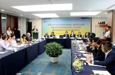Conference talks environment personnel development