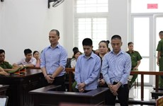 Three drug traffickers sentenced to death