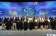 Vietnam's 50 best-performing firms announced