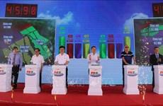 Phu Yen inaugurates two solar power plants