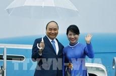PM Nguyen Xuan Phuc arrives in Japan