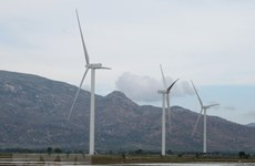 Construction starts on two wind power plants in Quang Tri