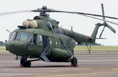 Indonesian military helicopter with 12 on board goes missing
