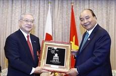 PM meets leaders of Japan-Vietnam Friendship Associations