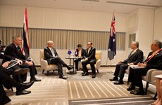 Australia backs Thailand's bid to seal RCEP