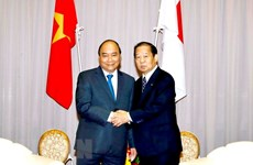 PM receives Chairman of Japan-Vietnam Friendship Parliamentary Alliance