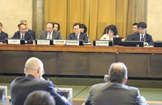 Vietnam chairs Geneva session on disarmament