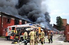 Vietnamese market in Germany on fire