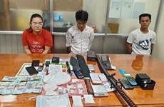 Cross-border drug trafficking ring smashed in Tay Ninh