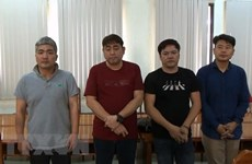 Korean-led illegal poker gambling house bust in HCM City