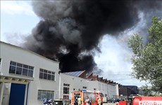 Fire put out at Vietnamese market in Berlin