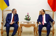 Vietnamese, Armenian PMs hold talks