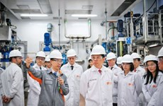 GSK opens 130 million USD facilities in Singapore