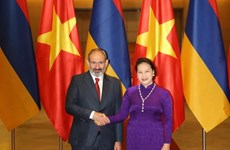 Parliamentary leader welcomes Armenian Prime Minister
