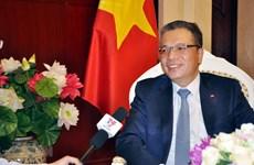 Top legislator's China visit to help consolidate political trust: diplomat