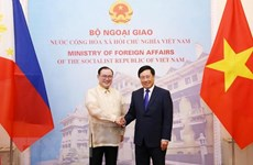 Vietnamese, Philippine foreign ministers hold talks