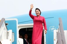 Top legislator arrives in Beijing, continuing official visit to China