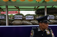 Myanmar seizes large amount of drugs in Shan state