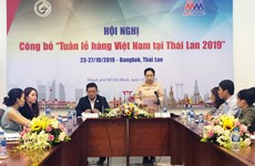 Week of Vietnamese goods to take place in Thailand in October