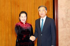 NA leader meets head of Chinese People's Political Consultative Conference