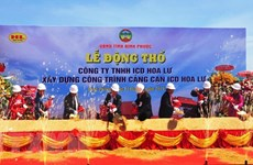 Work begins on new inland container depot in Binh Phuoc
