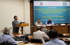 Seminar in India talks East Sea issue