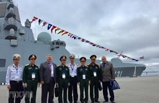 Vietnam joins int'l maritime defence show in Russia