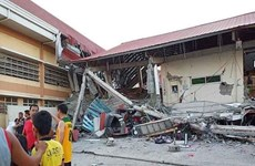 51 injured as 5.8-magnitude quake rocks southern Philippines