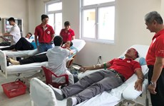 Blood donation campaign held in Thua Thien-Hue, Cao Bang