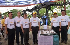 New dinosaur species discovered in Thailand