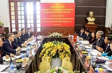 Vietnam, Laos step up judicial ties
