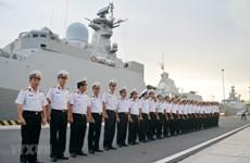 Vietnam naval ship visits Russia